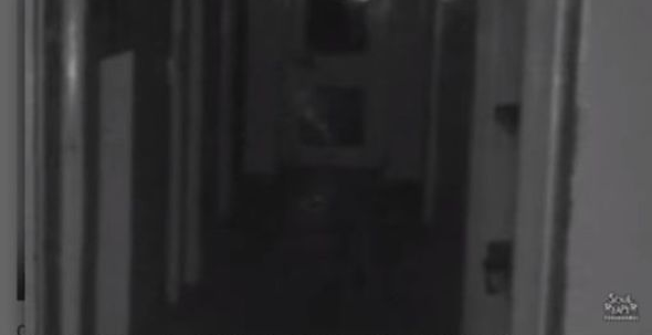 Child Ghost Captured at Mansion