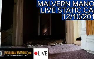 Malvern Manor 12/10/17