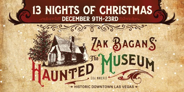 Zak Bagans' 13 Nights of Christmas