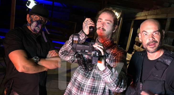 Post Malone Joins Zak Bagans