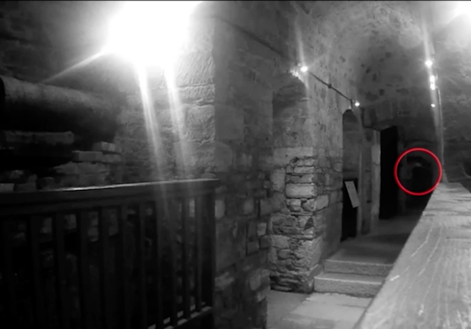 Ghost At Cornwall's Prison Caught On Tape?