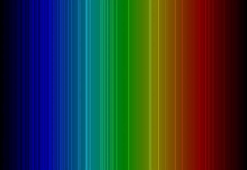 paranormal theories The light spectrum