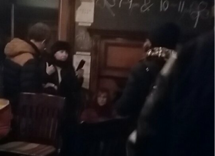 Apparition Photo At Bar