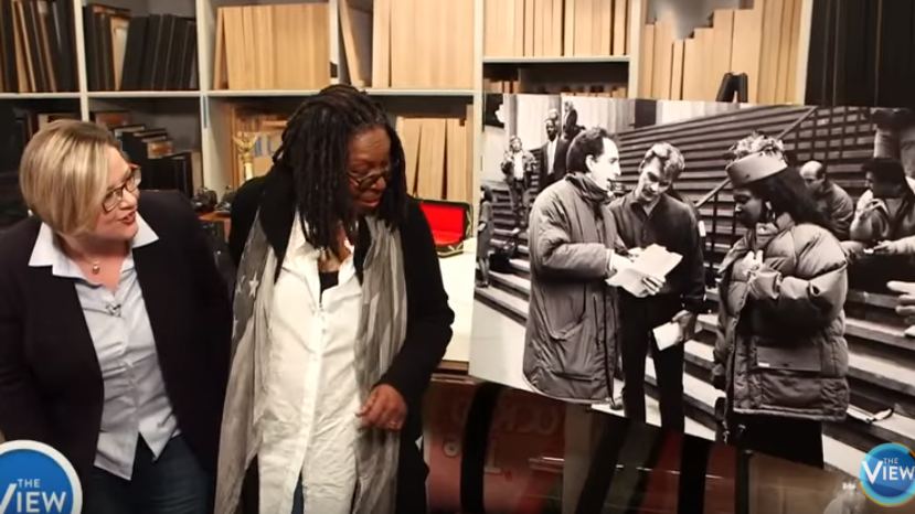 Whoopie Goldberg Visited By The Ghost Of Patrick Swayze?!