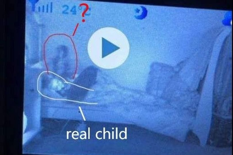 Baby monitor ghost