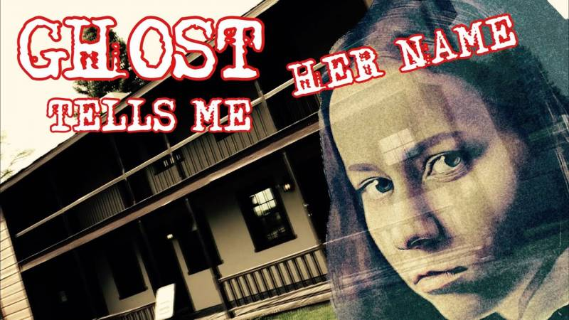 Paranormal Tyler Ghost Tells Me Her Name