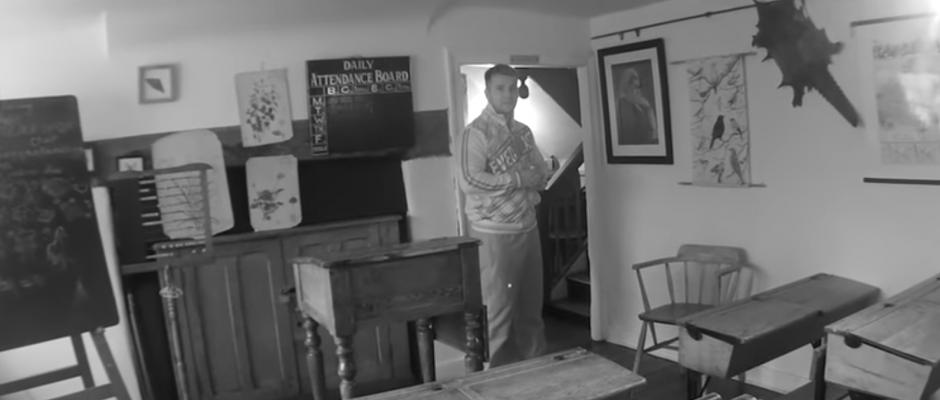 ghost slams door